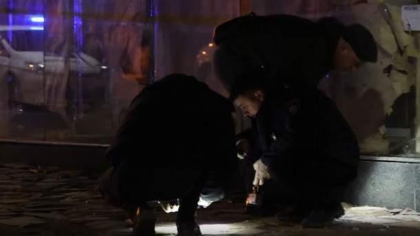Ночной взрыв в Киеве