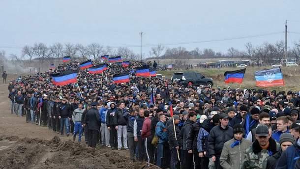 "Масштабная мобилизация в ""ДНР"""