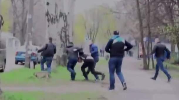 Задержание боевика в Запорожье