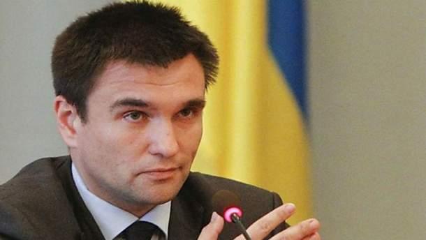 Клімкін заявив про необхідність протидії російській пропаганді