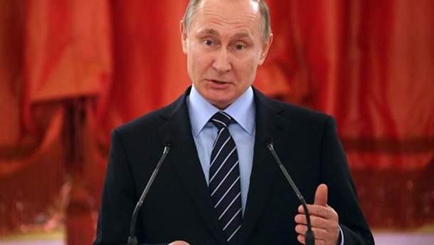 Путін заперечує причетність Росії до хімічної атаки в Сирії