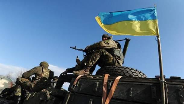Украинские воины получили ранения в зоне АТО