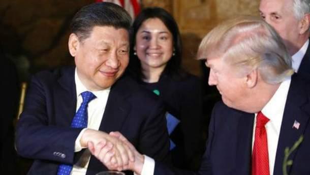 Китайский лидер посетил Трампа во Флориде