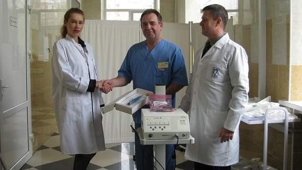 Ультразвуковий інструмент UAW шпатель для  центрального військового госпіталю