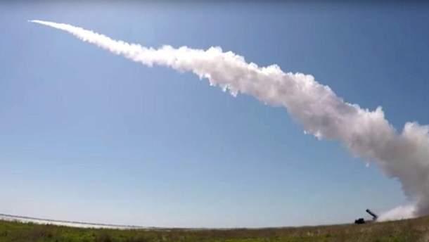 Запуск украинских ракет