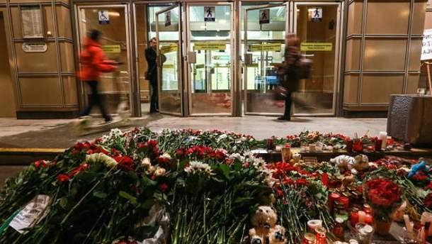 В результате взрыва в петербургском метро увеличилось количество погибших