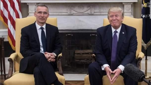 Столтенберг і Трамп зустрілися