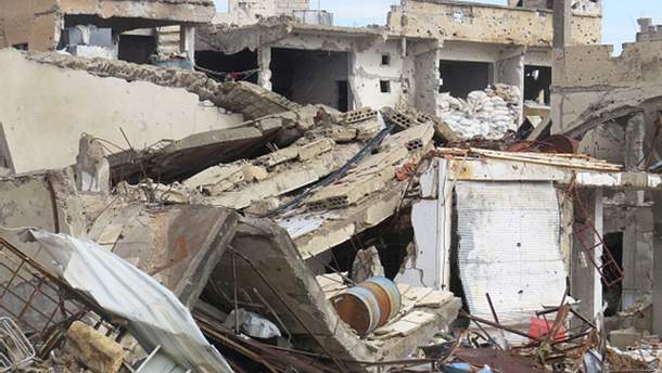 Запад атаковал склады химоружия в Сирии