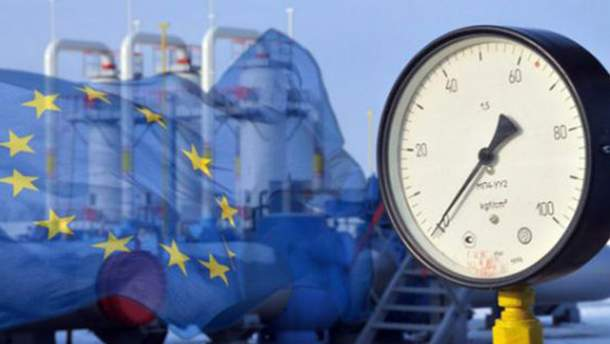 Украина покупает у Европы газ, дешевле российского