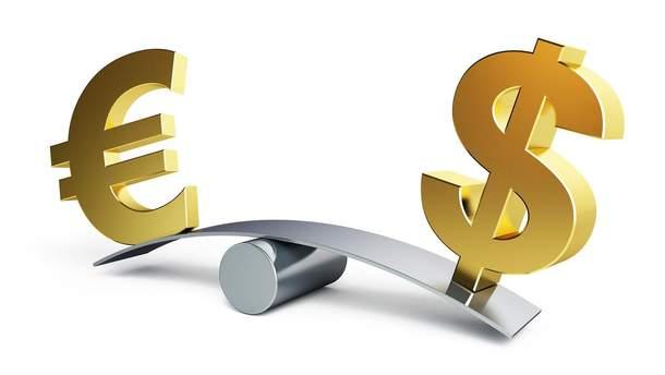 Цена евро в Украине пока значительно выше