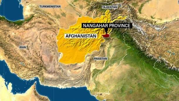 США вдарили по позиціях ІДІЛ в Афганістані