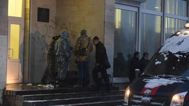 Место взрыва в Санкт-Петербурге