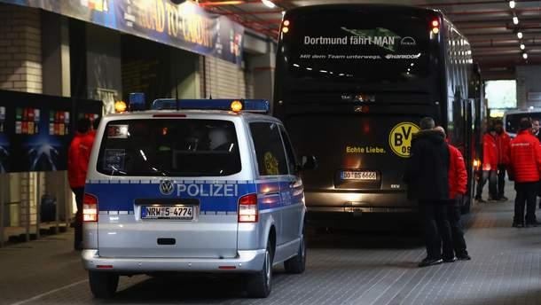 """Поліція охороняє футболістів """"Борусії"""""""