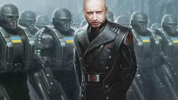 """Турчинову нравится, что его называют """"Кровавым пастором"""""""