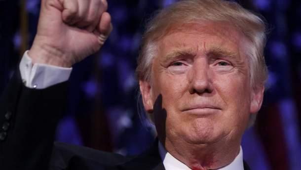 Трамп показывает свою крутизну