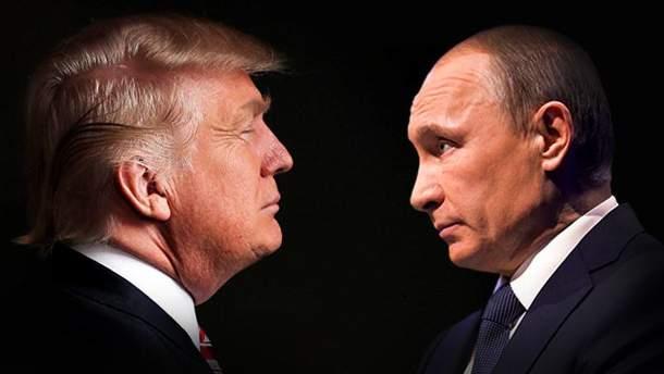 Роман між Трапом і Путіним скіничився?
