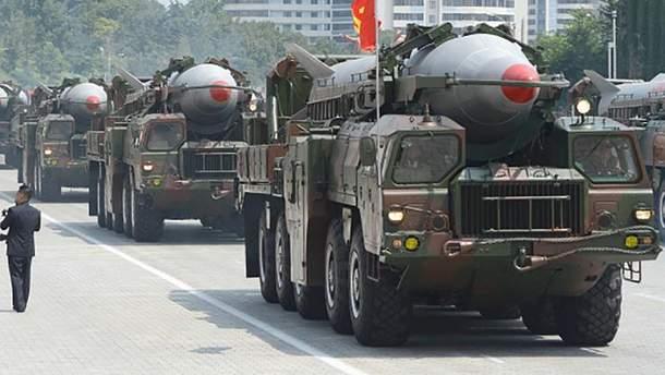 Северокорейские баллистические ракеты
