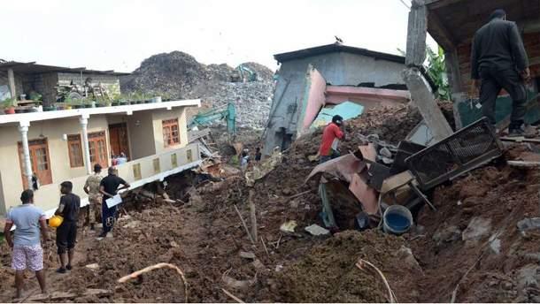 Місце трагедії в Шрі-Ланці