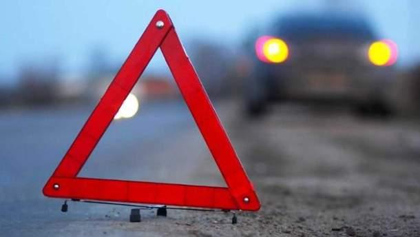 Авария в России