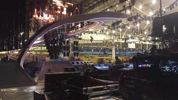 Сцена Євробачення-2017
