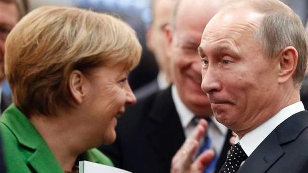 Ангела Меркель передала   спецслужбам досьє на Володимира Путіна