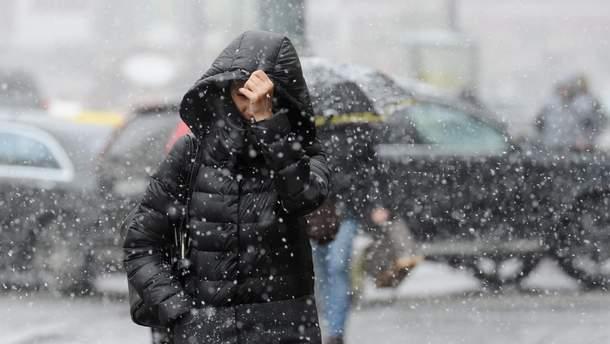 На  Украину надвигается циклон