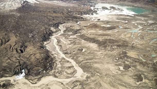 Сейчас река Слимс практически высохла