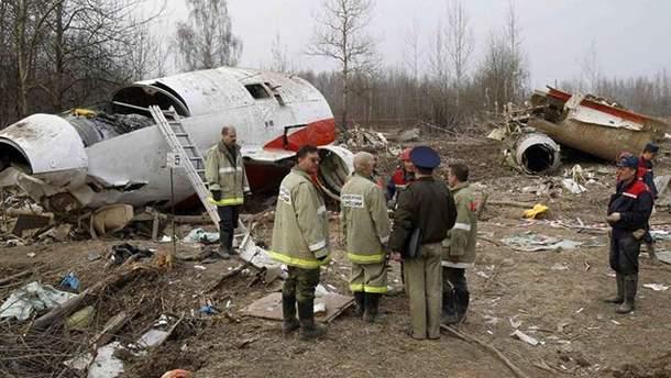 Польша имеет новую информацию относительно авиакатастрофы под Смоленском