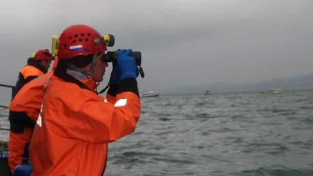 Аварія судна в Чорному морі