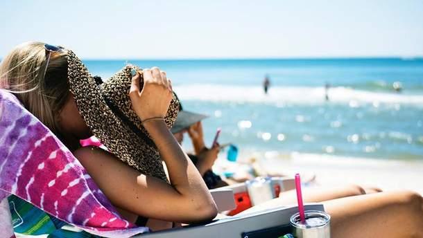 Не стоит выходить на солнце без защитного крема