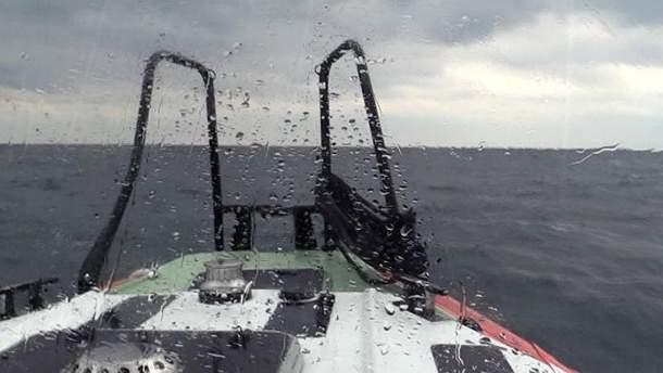 Аварія російського судна в Чорному морі