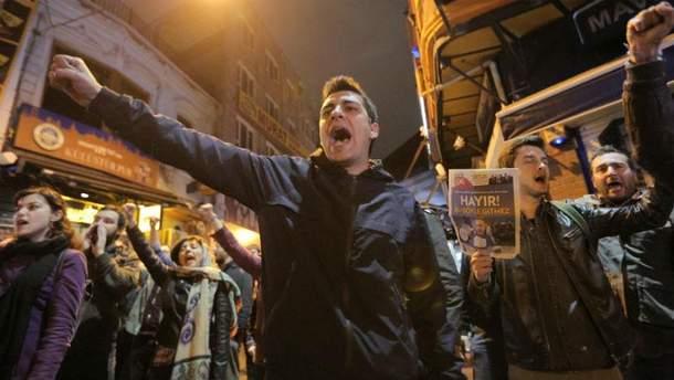 Мітинги у Туреччині