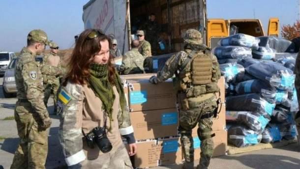 Получение гуманитарной помощи