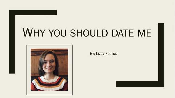 Дівчина зробила презентацію-запрошення