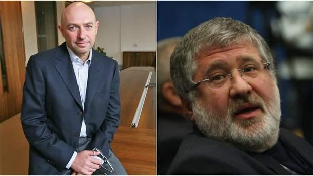 Геннадій Боголюбов і Ігор Коломойський