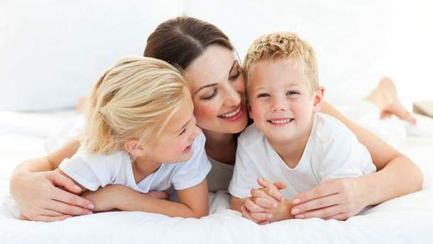 Мама і діти