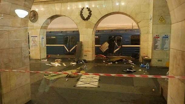Наслідки теракту у метро Санкт-Петербурга