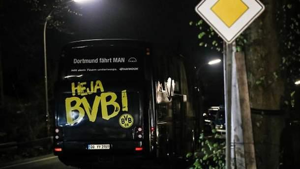 нападник підірвав вибухівку поблиу автобусу футболістів