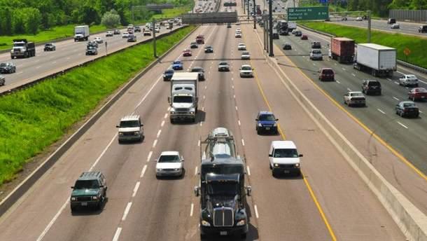 Скоростная автомагистраль (Иллюстрация)