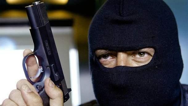 Ограбление банка в Германии