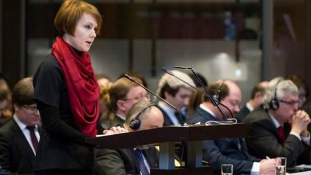 Елена Зеркаль заверила, что Украина имеет достаточно доказательств против России для суда ООН