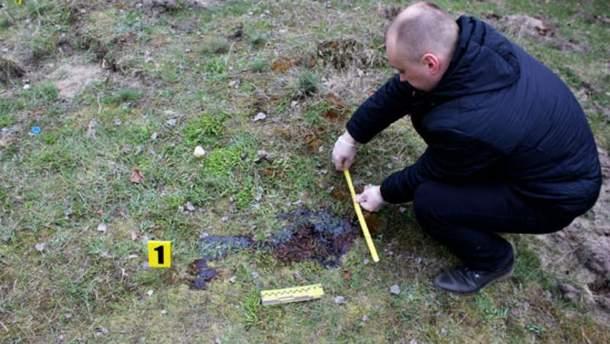 Фото с места убийства