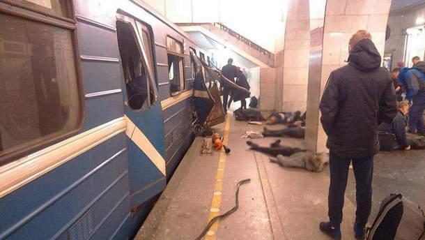 Теракт у Санкт-Петербурзі