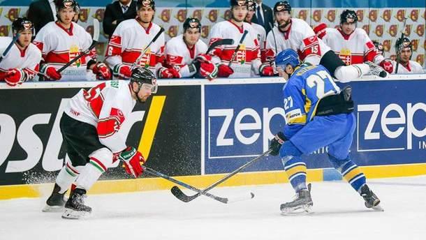 Украина открывала турнир матчем с Венгрией