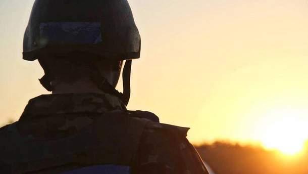 Військовий у зоні АТО