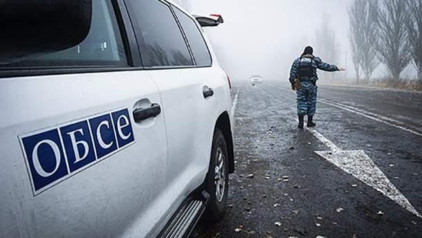 Авто ОБСЄ підірвалось на міні