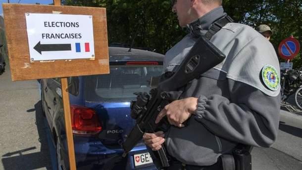 Охрану на выборах во Франции обеспечивают 50 тысяч правоохранителей
