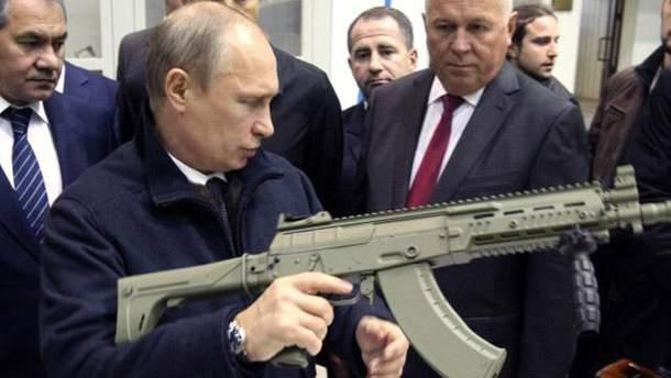 Россия третья в мире по затратам на оружие