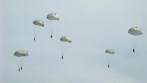 Тренування десантників