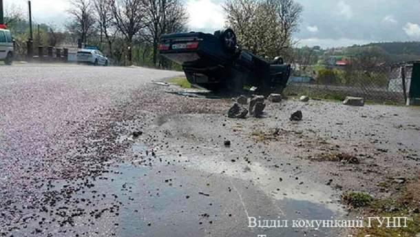 Авария на Тернопольщине